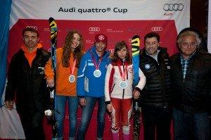 Los campeones del futuro en el podium del 19 Trofeo Pista! Pista! La Molina