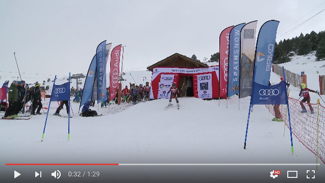 Vídeo Audi quattro Cup 2017 en La Molina